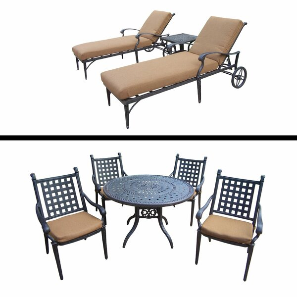 Arness 8 Piece Dining Set and Lounge Set by Darby Home Co