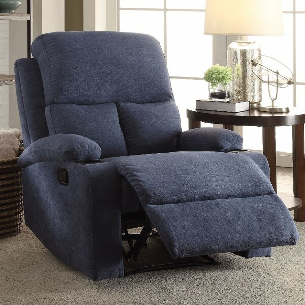 Menon Manual Glider Recliner by Ebern Designs