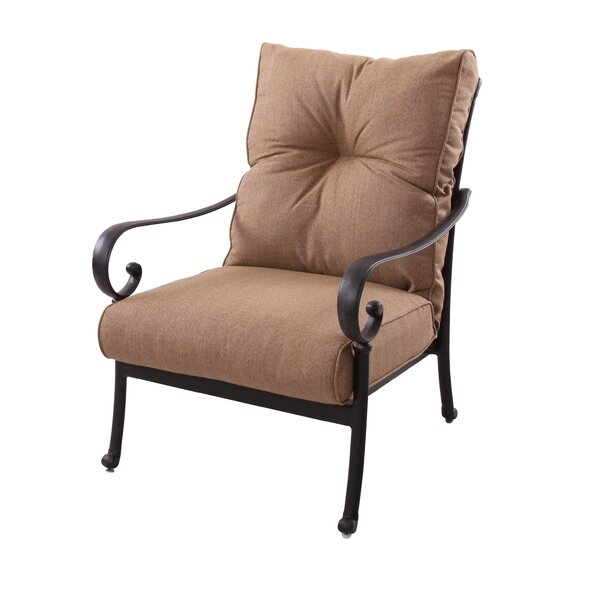 Carlitos Club Chair with Cushion by Darby Home Co
