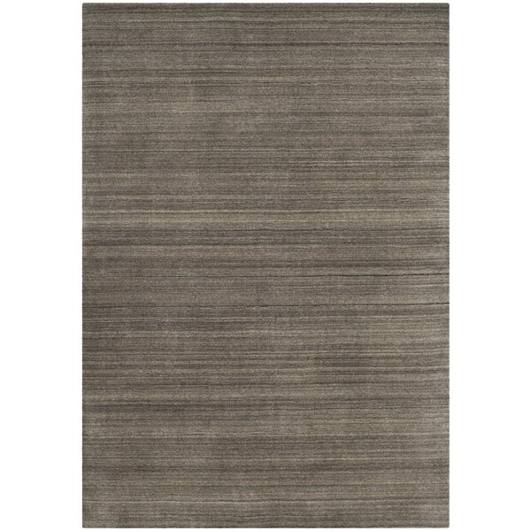 Anson Hand-Loomed Pewter Area Rug by Corrigan Stud