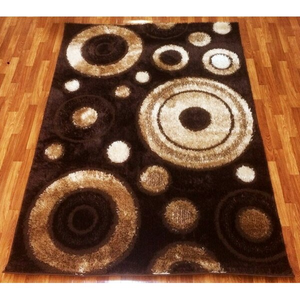 Gloria Brown Area Rug by Bekmez International Inc.