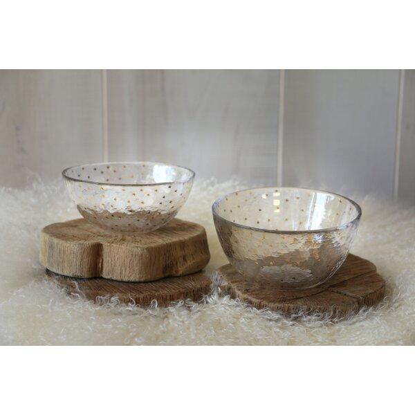 Coursey 2 Piece Dessert Bowl Set by Brayden Studio