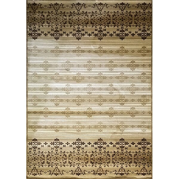 Cahlil Cream Area Rug by Bloomsbury Market