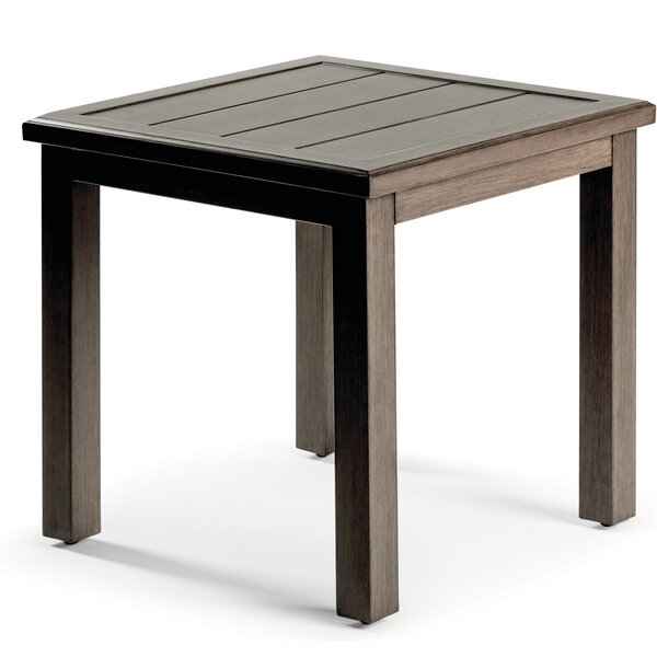 Horizon Aluminum Side Table by Eddie Bauer