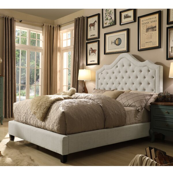 Orlando Upholstered Standard Bed by Willa Arlo Interiors