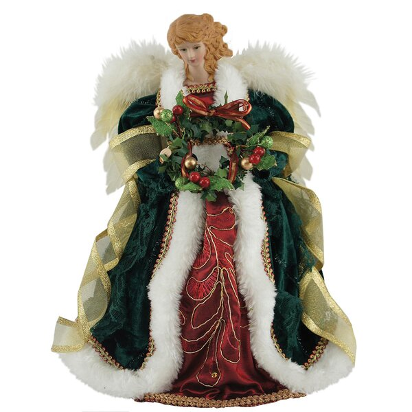 12 Christmas Angel Tree Topper by The Holiday Aisle