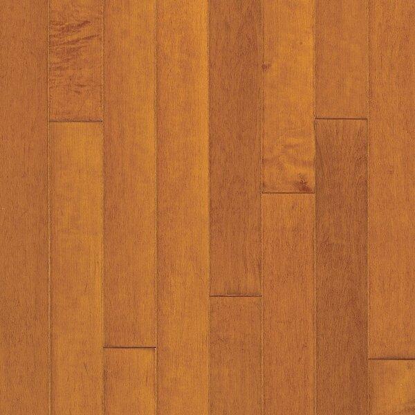 Turlington 3 Engineered Maple Hardwood Flooring in Low Glossy Cinnamon by Bruce Flooring