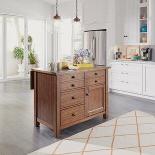 Kitchen Marble Top Modern contemporary marble top kitchen island allmodern hurst quartz top kitchen island sisterspd