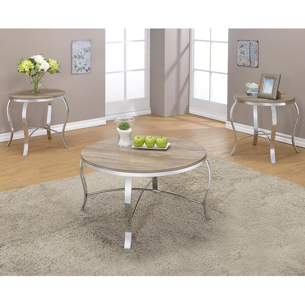 Malai Weathered 3 Piece Coffee Table Set By ACME Furniture