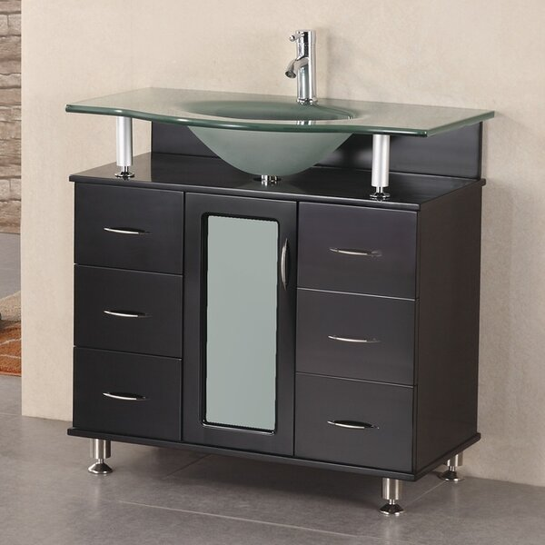 Mateo 36 Single Bathroom Vanity Set by Home Loft C