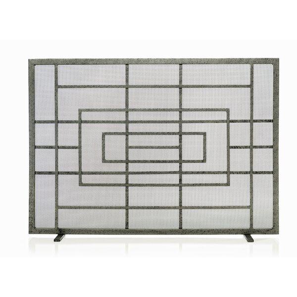 Judith Single Panel Steel Fireplace Screen By Ornamental Designs