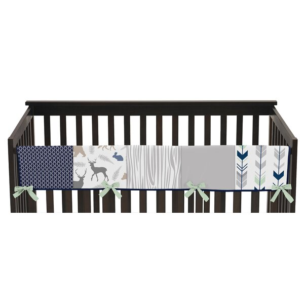 Woodsy Long Crib Rail Guard Cover by Sweet Jojo Designs
