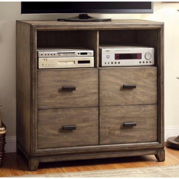 Patio Furniture Bennet Media 4 Drawer Chest
