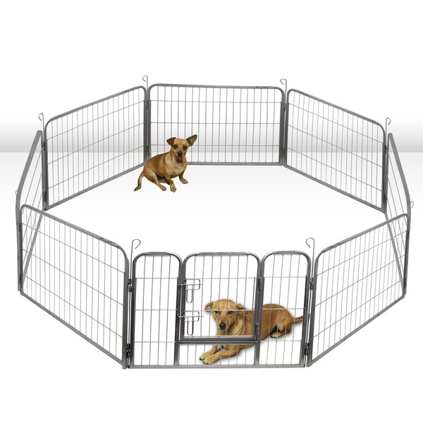 Heavy Duty Tube Play And Exercise Pet Pen by OxGord