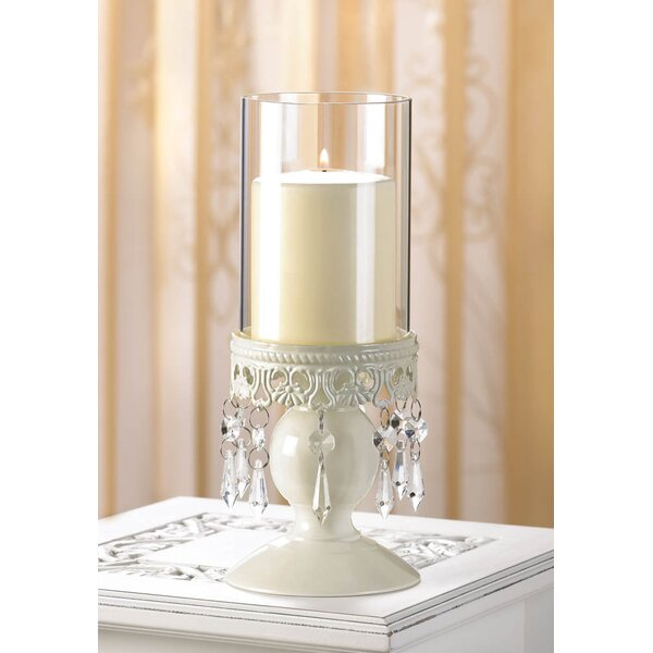 Drops of Crystal Candle Stand by House of Hampton