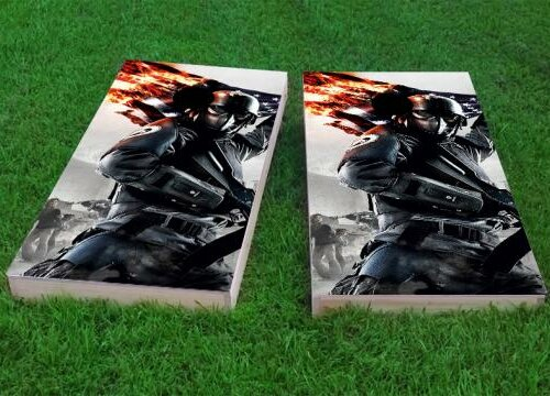 Military Flag Cornhole Game (Set of 2) by Custom Cornhole Boards