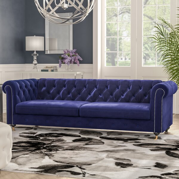 Claire Chesterfield Sofa by Everly Quinn