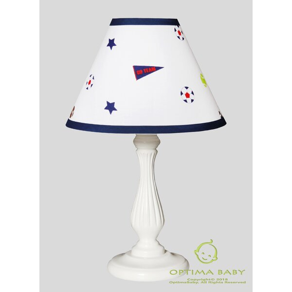 Sports Festival 10 Linen Bell Lamp Shade by Harriet Bee