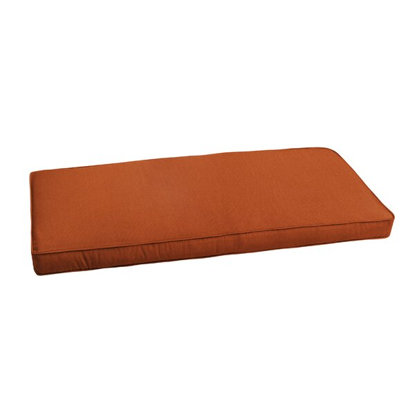 Outdoor Sunbrella Bench Cushion by Breakwater Bay