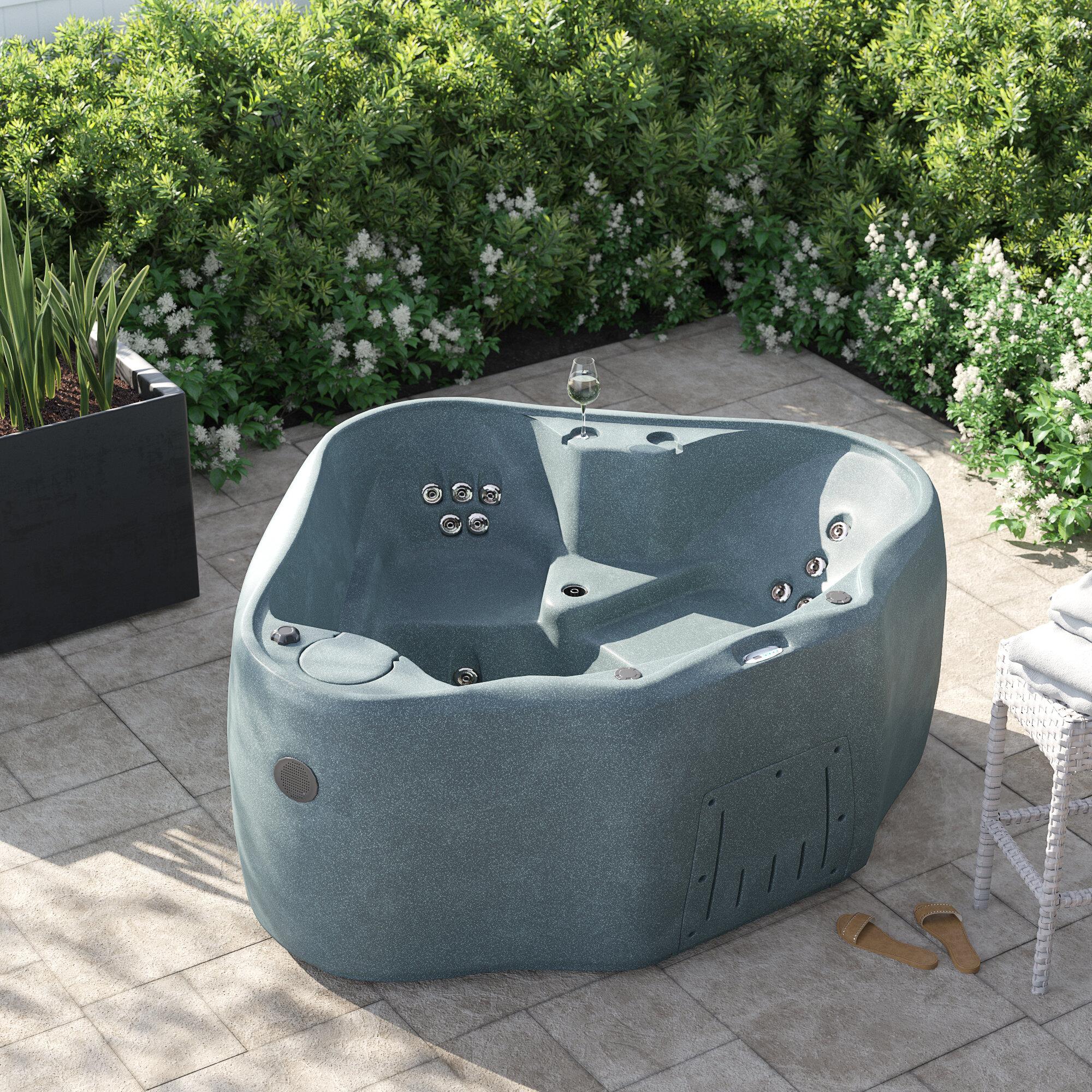 Aquarest Spas Select 300 2 Person 20 Jet Plug And Play Hot Tub