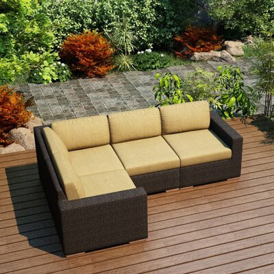 Rosecliff Heights Patio Sectional Cusions Color Sofas
