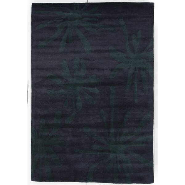 Rutherford Hand Tufted Wool Purple/Blue Area Rug by Bay Isle Home