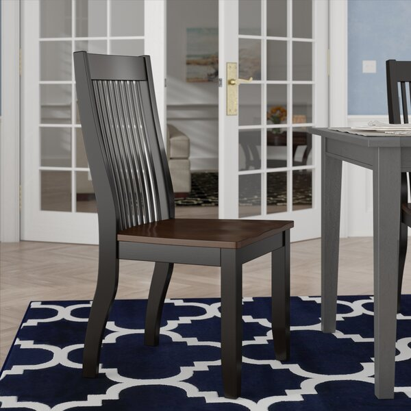 Chokio Solid Wood Dining Chair (Set of 2) by Darby Home Co