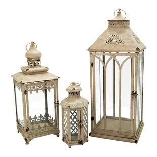 Inexpensive 3 Piece Nesting Lantern Set By One Allium Way