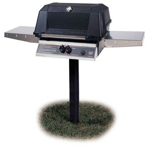 Buy Heritage 1-Burner Natural Gas Grill with Side Shelves!