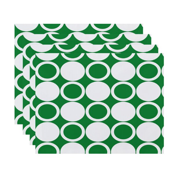 Willems Small Modcircles Placemat (Set of 4) by Latitude Run