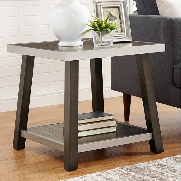 Pruitt End Table by Williston Forge