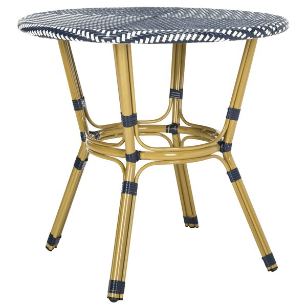Rahul Plastic Bistro Table by Bungalow Rose