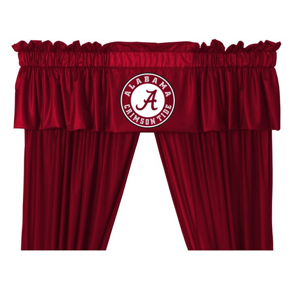 NCAA 88 Alabama Crimson Tide Curtain Valance by Sports Coverage Inc.