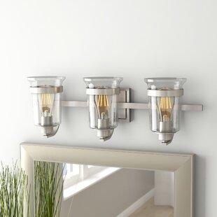 Compare & Buy Pisek 3-Light Vanity Light By Laurel Foundry Modern Farmhouse
