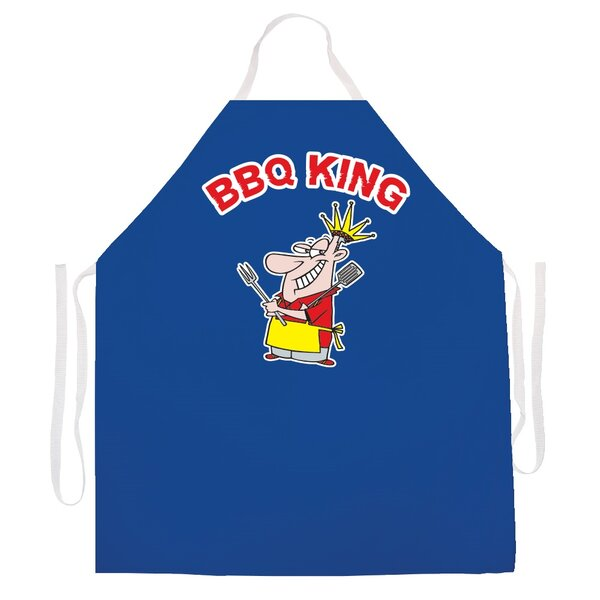 BBQ King Apron by Attitude Aprons by L.A. Imprints