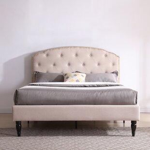 Evendale Upholstered Platform Bed ByCharlton Home