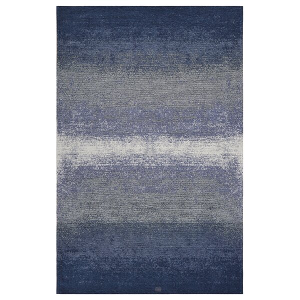 Axelrod Abstract Ombre Blue Area Rug by Bungalow Rose