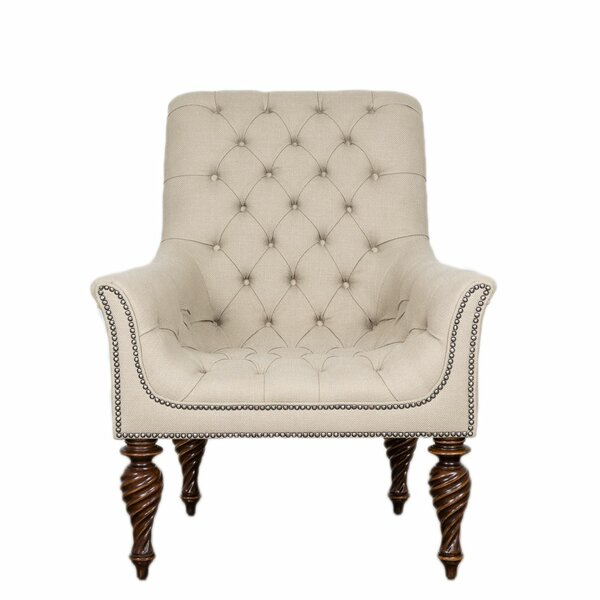 Teixeira Upholstered Tufted Armchair by Astoria Grand