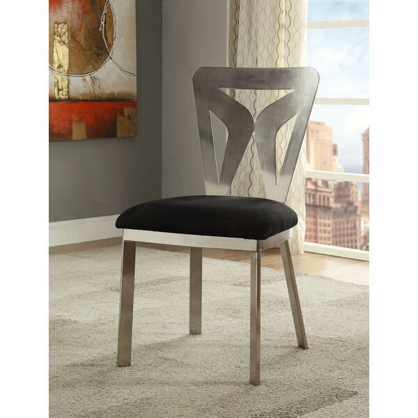 Harvell Upholstered Dining Chair (Set of 2) by Orren Ellis