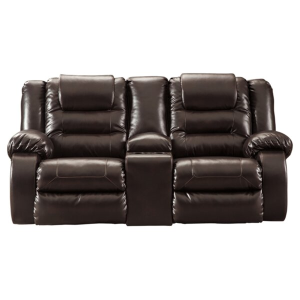 New Look Camellia Reclining Loveseat by Red Barrel Studio by Red Barrel Studio