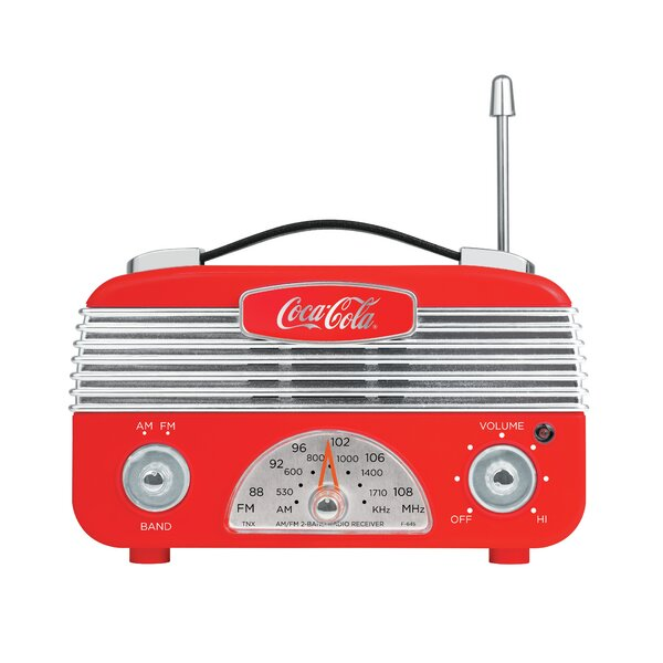 Coca-Cola Retro Radio by Style Asia