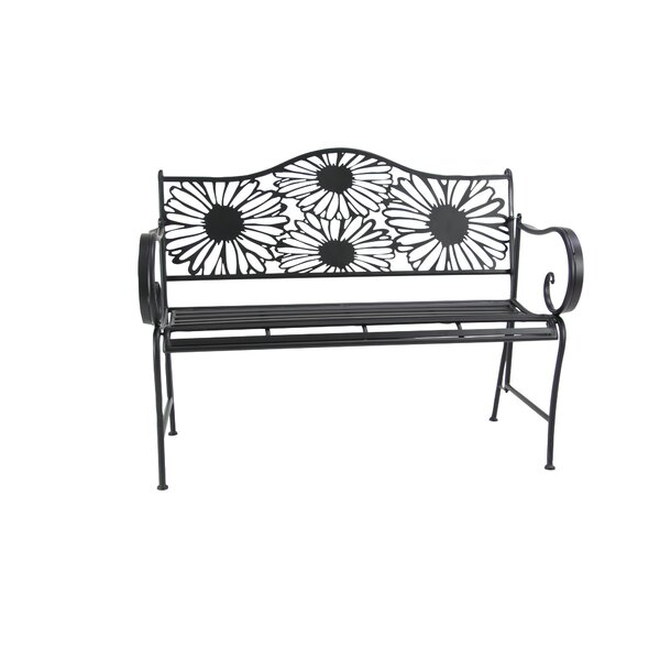 Arsenovic Metal Bench by August Grove