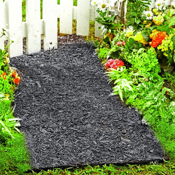 Environmentally Friendly Perma Mulch Pathway by Plow & Hearth