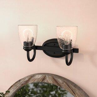 Compare Sheila 2-Light Vanity Light ByLaurel Foundry Modern Farmhouse