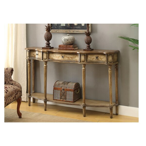 Cluff Breakfront Console Table by Fleur De Lis Living