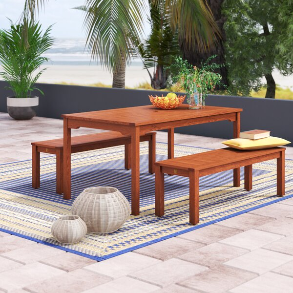 Elsmere 3 Piece Dining Set by Beachcrest Home