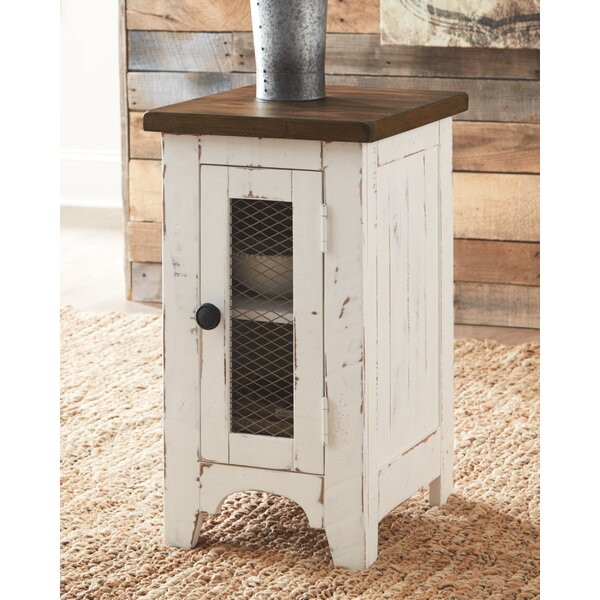 Darian End Table With Storage By Laurel Foundry Modern Farmhouse
