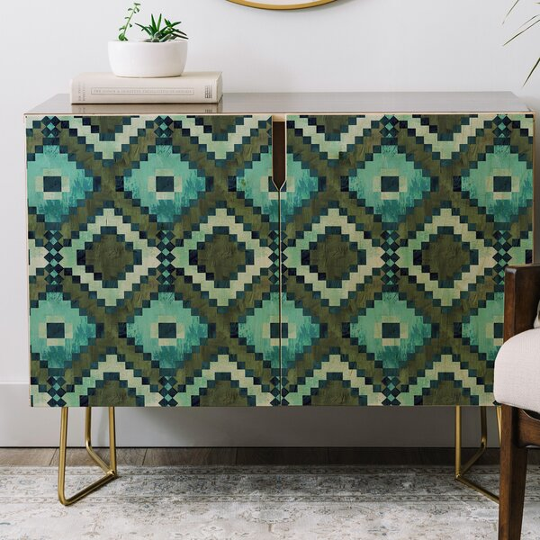 Schatzi Boho Diamonds Credenza By East Urban Home