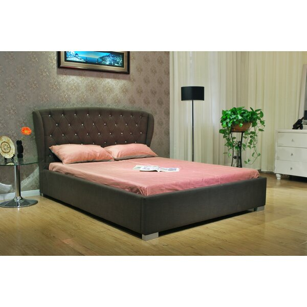 Queen Upholstered Standard Bed by Greatime