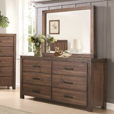 Florence 6 Drawer Dresser with Mirror by Laurel Foundry Modern Farmhouse
